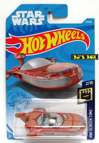 2021 Hot Wheels X-34 LANDSPEEDER #12/250 Star Wars Vehicle 2/10 HW SCREEN TIME New