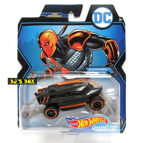 Hot Wheels DC Comics DEATHSTROKE Character Cars Mattel Sealed New