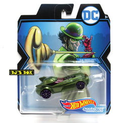 Hot Wheels DC Comics THE RIDDLER Character Cars Green Purple New