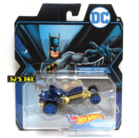 Hot Wheels DC Comics HOT ROD BATMAN Character Cars New