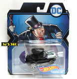 Hot Wheels DC Comics THE PENGUIN Character Cars Batman Mattel Sealed New