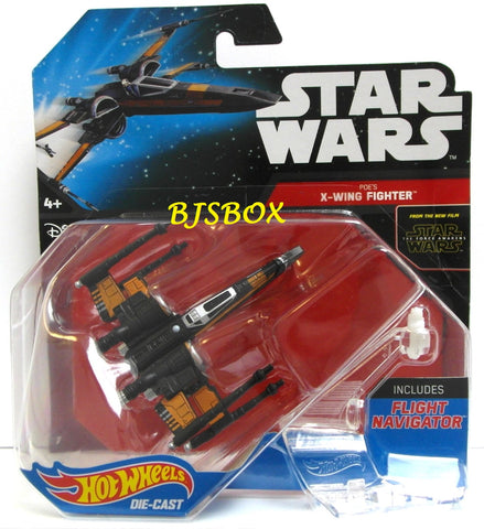 Hot Wheels Star Wars POE'S X-WING FIGHTER #7 Wing Foils Open Disney New