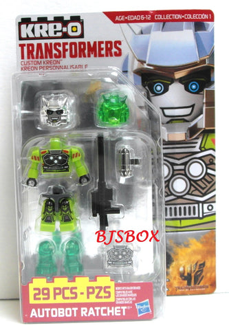 KRE-O Transformers Custom Kreon AUTOBOT RATCHET Figure #A7837 Collection 1 New Rare Building Toy