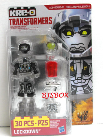 KRE-O Transformers Custom Kreon LOCKDOWN Figure #A7838 Collection 1 New Rare Building Toy