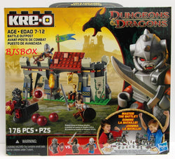 KRE-O Dungeons & Dragons BATTLE OUTPOST 176 Pcs. Building Block Set #A6740 New