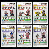 KRE-O Transformers Custom Kreon Set of 6 Deluxe Figures Bumblebee Megatron + 4 more Ultra Rare New