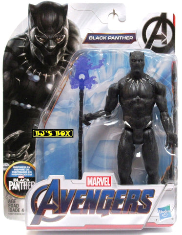 Marvel Avengers BLACK PANTHER 6in. Hasbro Action Figure New Sealed