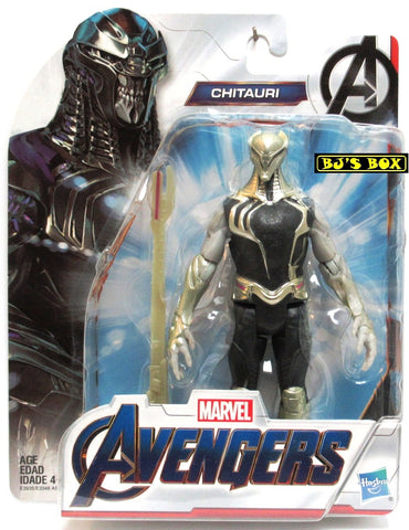 Marvel Avengers CHITAURI 6in. Hasbro Action Figure New Sealed