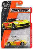 2016 Matchbox '15 CORVETTE STINGRAY #63/125 Yellow Fire Car MBX Heroic Rescue New