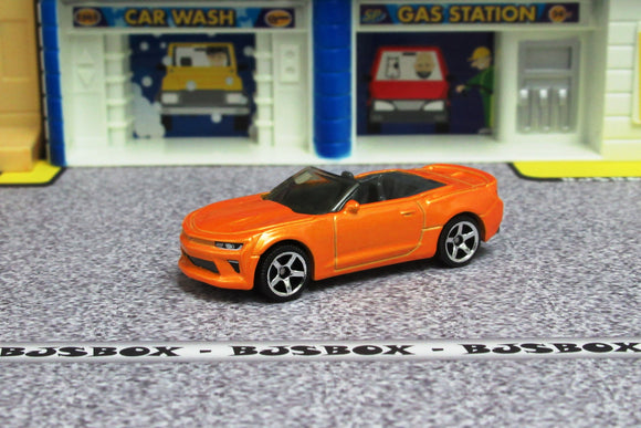 2019 Matchbox '16 CHEVY CAMARO Orange MBX Road Trip Blue Highways Loose New