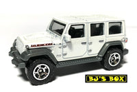 2020 Matchbox 2018 JEEP WRANGLER JL Rubicon White 4dr 64/100 MBX Jungle 4x4 New