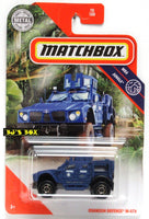 2020 Matchbox OSHKOSH DEFENSE M-ATV Blue Federal Police APC #70/100 MBX Jungle 4x4 New