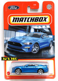 2021 Matchbox 2019 FORD MUSTANG COUPE Blue Iconic Pony Car #31/100 New