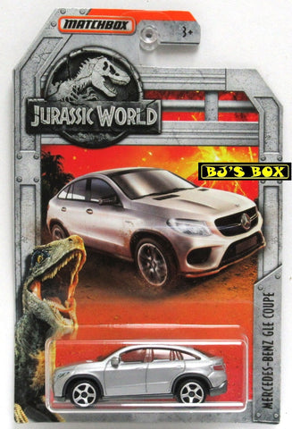 2018 Matchbox Jurassic World MERCEDES-BENZ GLE COUPE (#9 of 18) Silver New