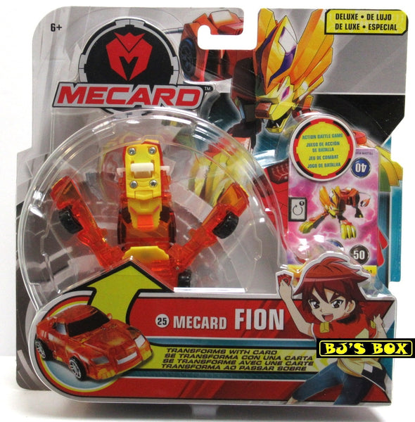 Mecard Deluxe FION Figure Mecanimal Mattel Transformer Robot Car #25 Toy New