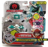 Mecard Deluxe MOTHTON Figure Mecanimal Mattel Transformer Robot Car #24 New