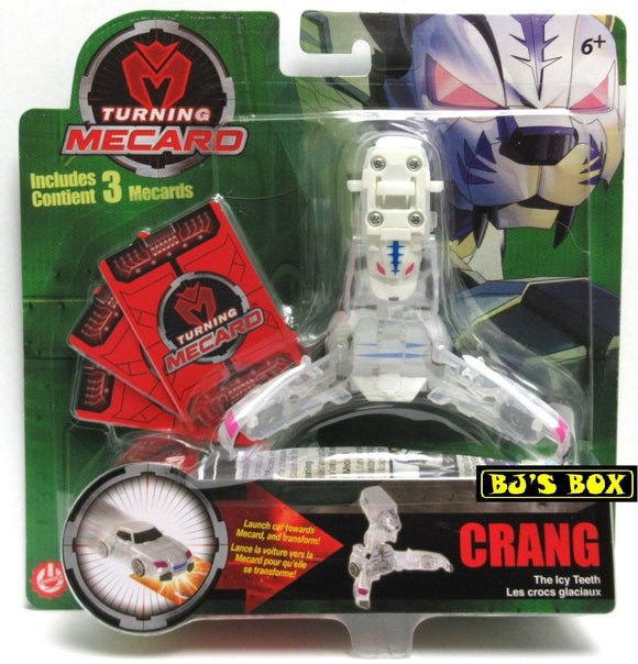 Turning Mecard CRANG The Icy Truth Mattel Transformer Series 1 Toy White New