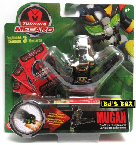 Turning Mecard MUGAN The Voice of Nightmares Mattel Transformer Series 1 Toy Black New