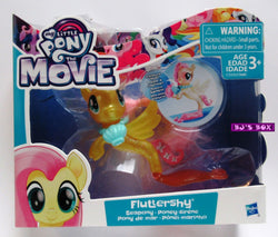 My Little Pony The Movie FLUTTERSHY Seapony Figure with Accessories