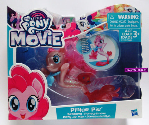 My Little Pony The Movie PINKIE PIE Seapony Figure with Accessories