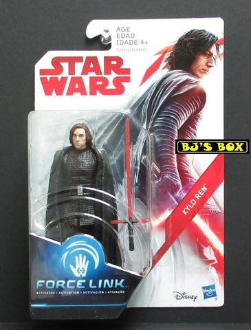 Star Wars Force Link KYLO REN Action Figure 3.75in New
