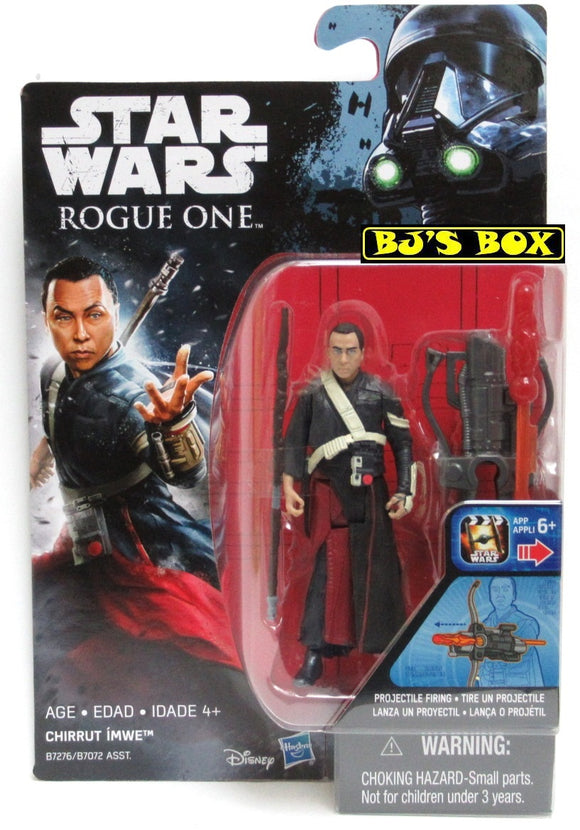 Star Wars Rogue One CHIRRUT IMWE Action Figure 3.75in New Sealed NIP