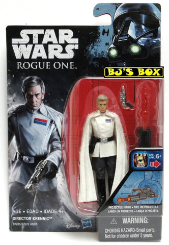 Star Wars Rogue One DIRECTOR KRENNIC Action Figure 3.75in New