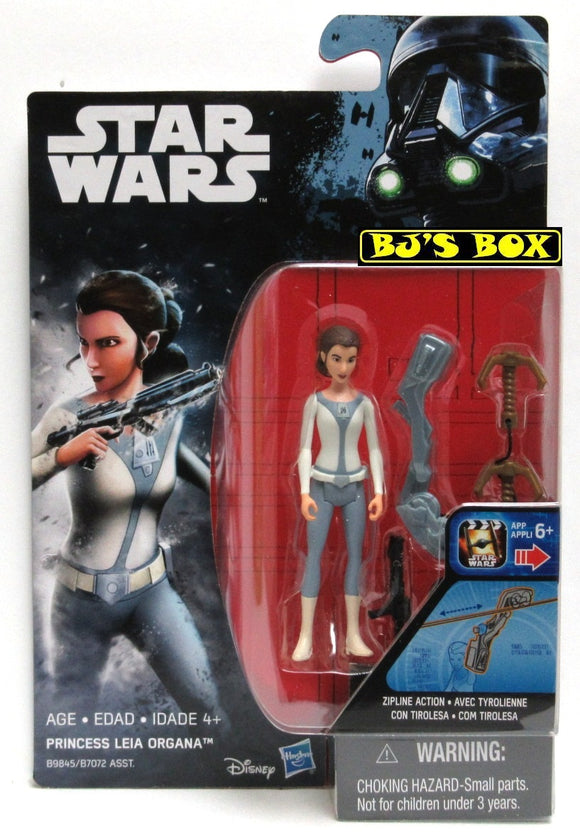 Star Wars Rogue One PRINCESS LEIA ORGANA Action Figure 3.75in New Sealed