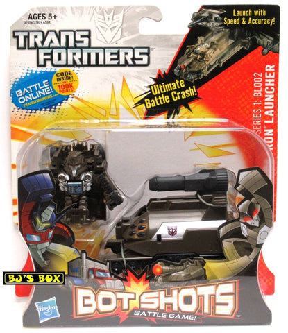 Transformers Bot Shots MEGATRON LAUNCHER with Figure Battle Game Series #1 BL002 New
