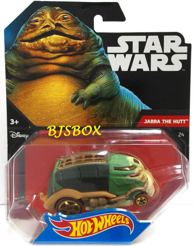 Hot Wheels Star Wars JABBA THE HUTT #24 Garbage Disposal Truck Disney New