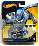 Hot Wheels DC Comics MR. FREEZE Character Car Batman Sealed Mattel New