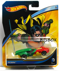 Hot Wheels DC Comics ROBIN Character Car Batman Sealed Mattel New