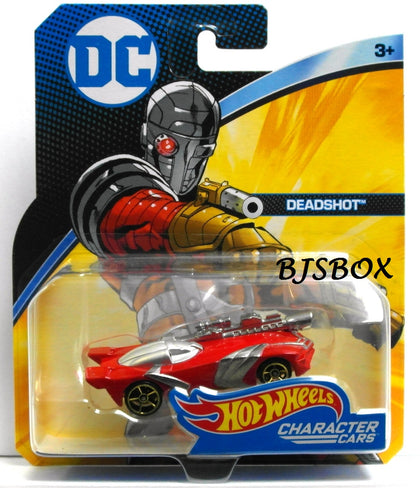 Hot Wheels DC Comics DEADSHOT Character Cars New