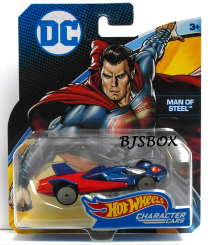 Hot Wheels DC Comics MAN OF STEEL Character Cars Superman New
