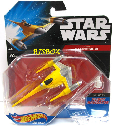 Hot Wheels Star Wars NABOO N-1 STARFIGHTER Starship Fighter Disney New
