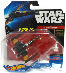 Hot Wheels Star Wars POE'S X-WING FIGHTER #19 The Force Awakens Disney New