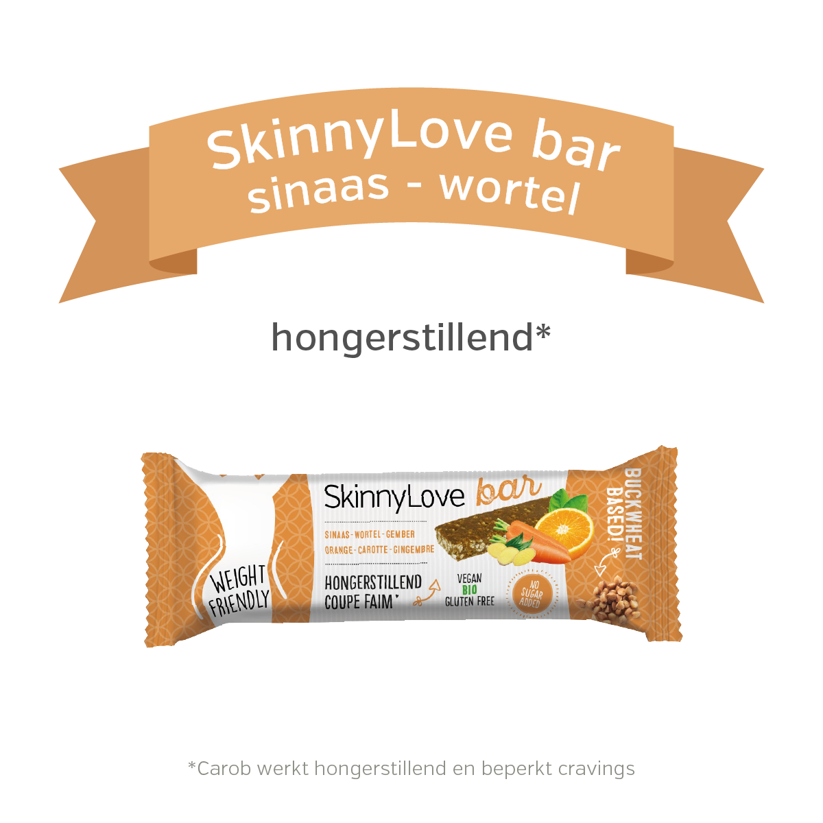 SkinnyLove bar | sinaas - wortel