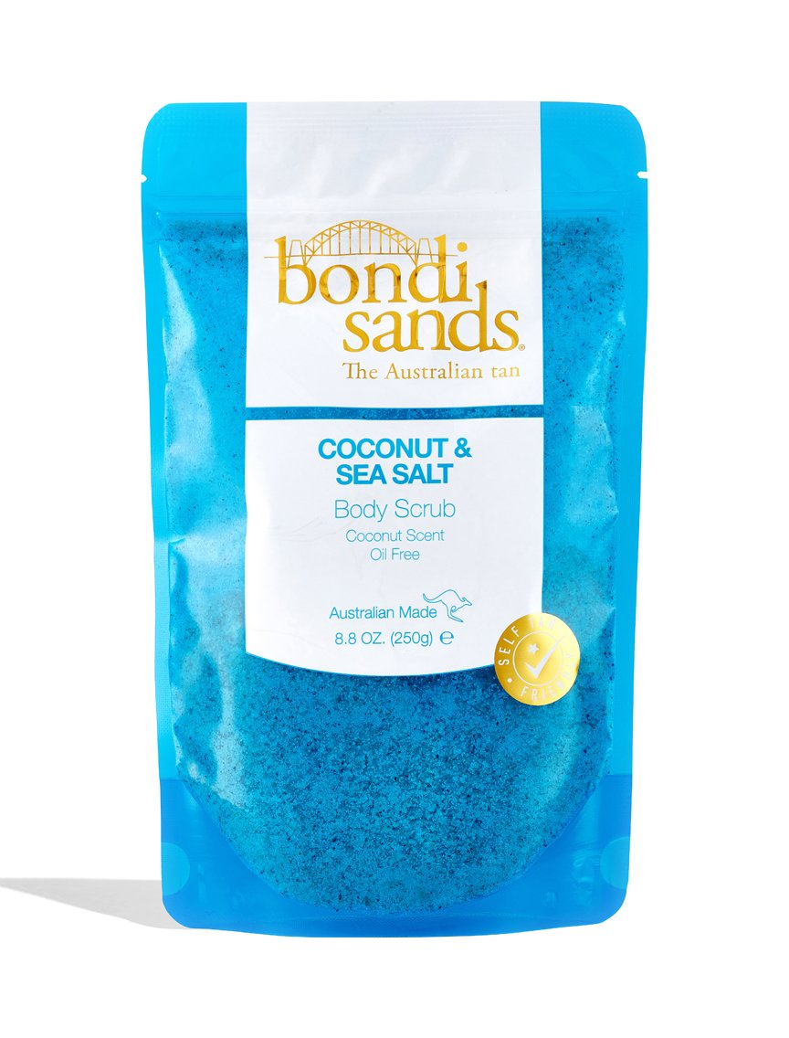 Vegan Coconut Sea Salt Body Scrub