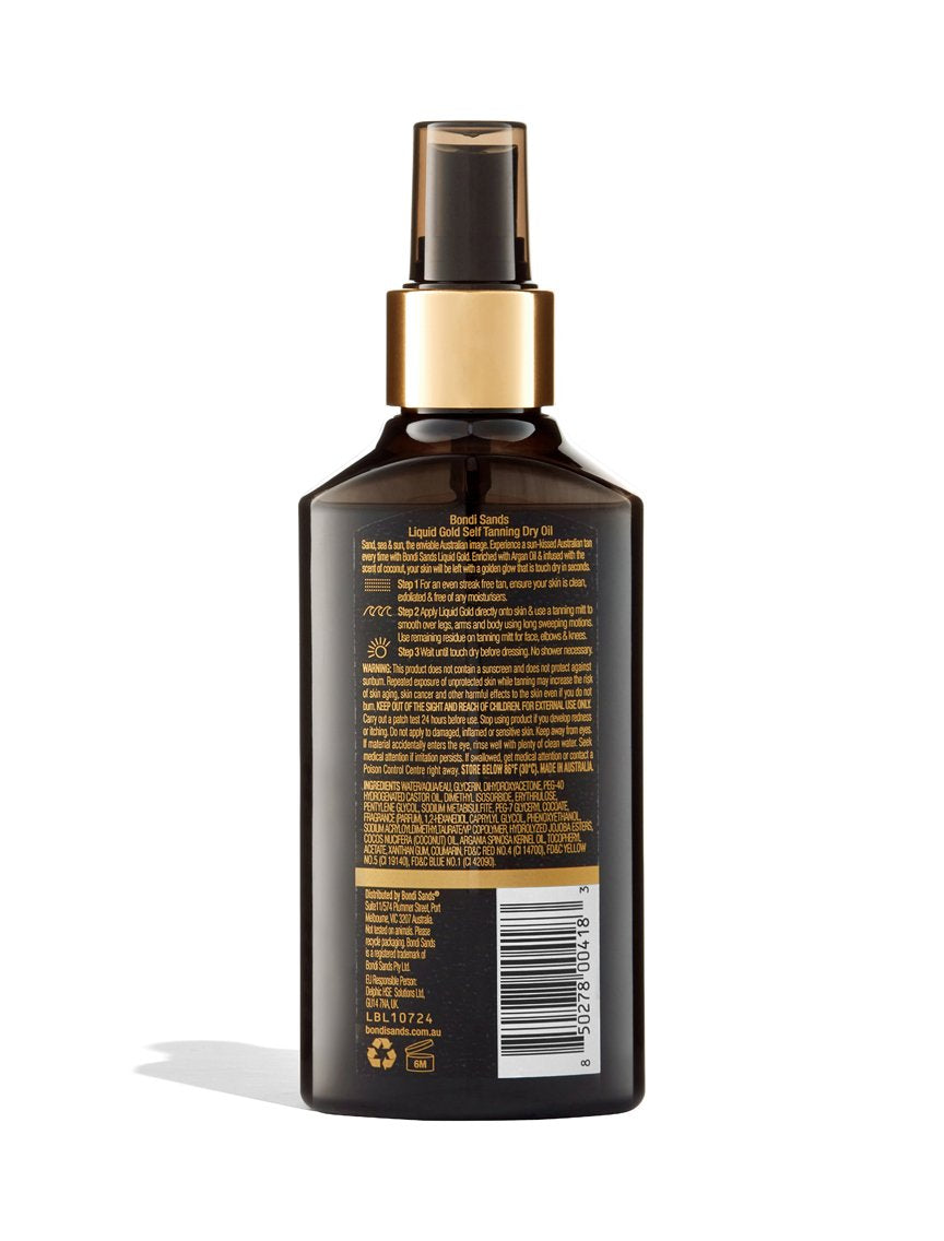 Liquid Gold Self Tanning Oil