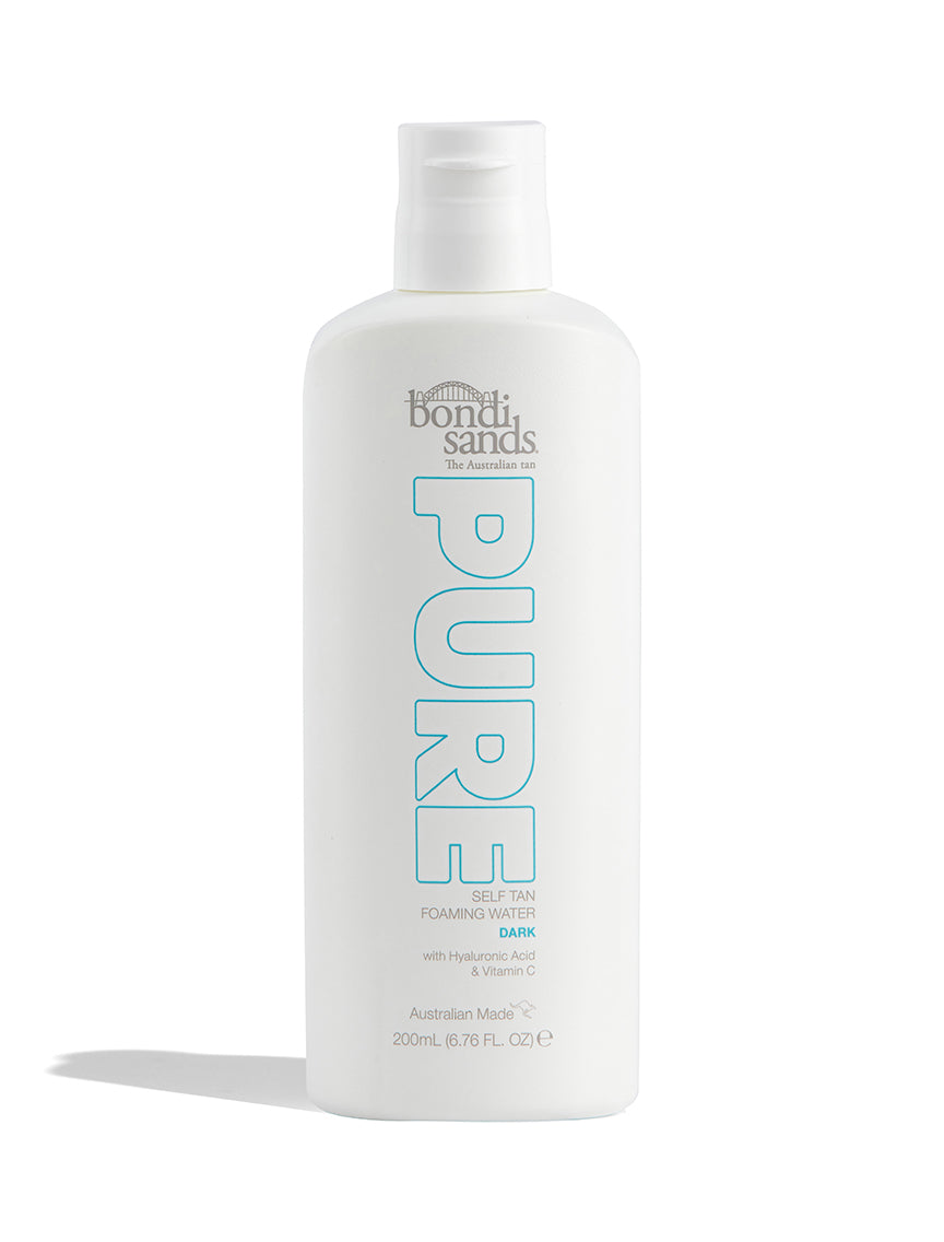 Vegan Pure Self-Tanning Foaming Water Dark Shade