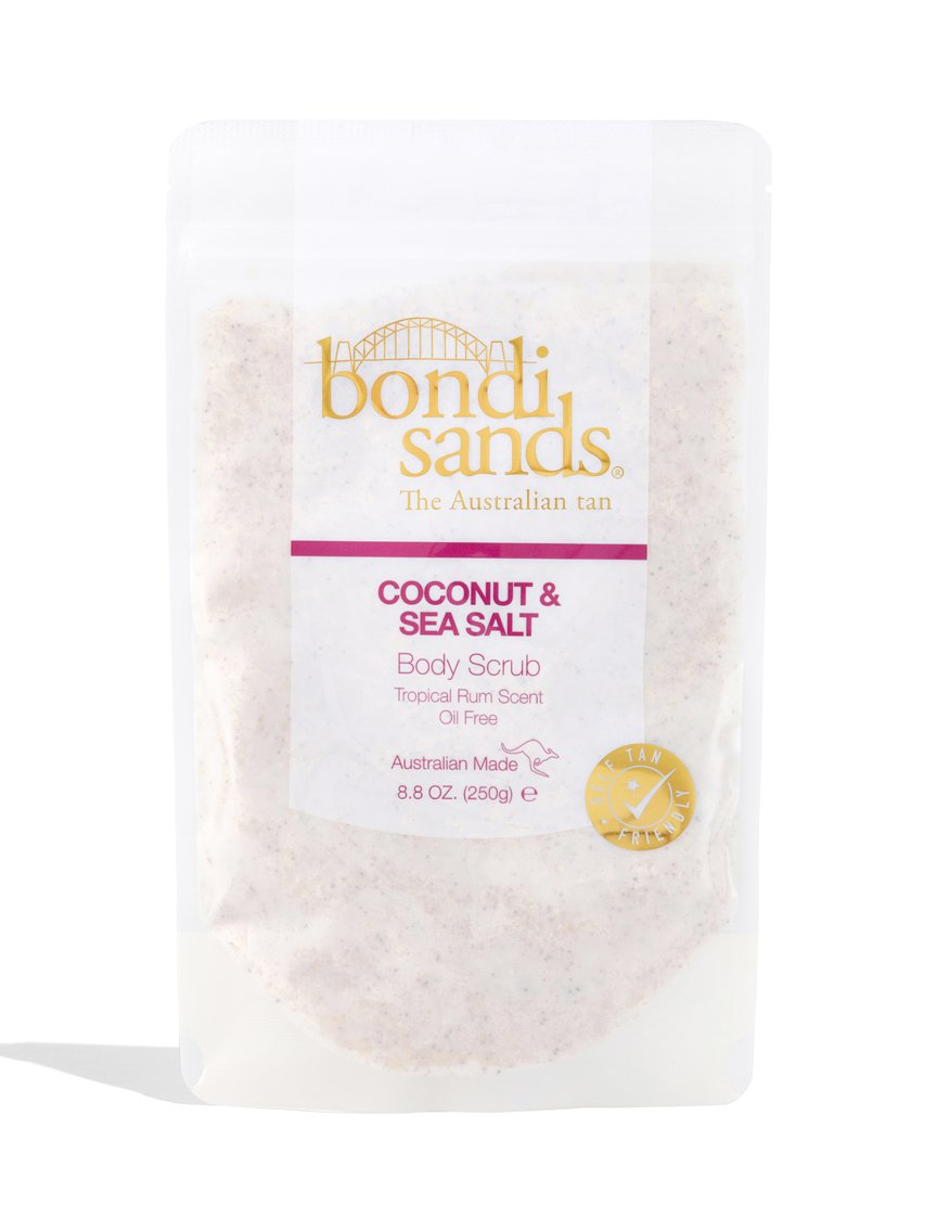 Vegan Tropical Rum Sea Salt Exfoliator
