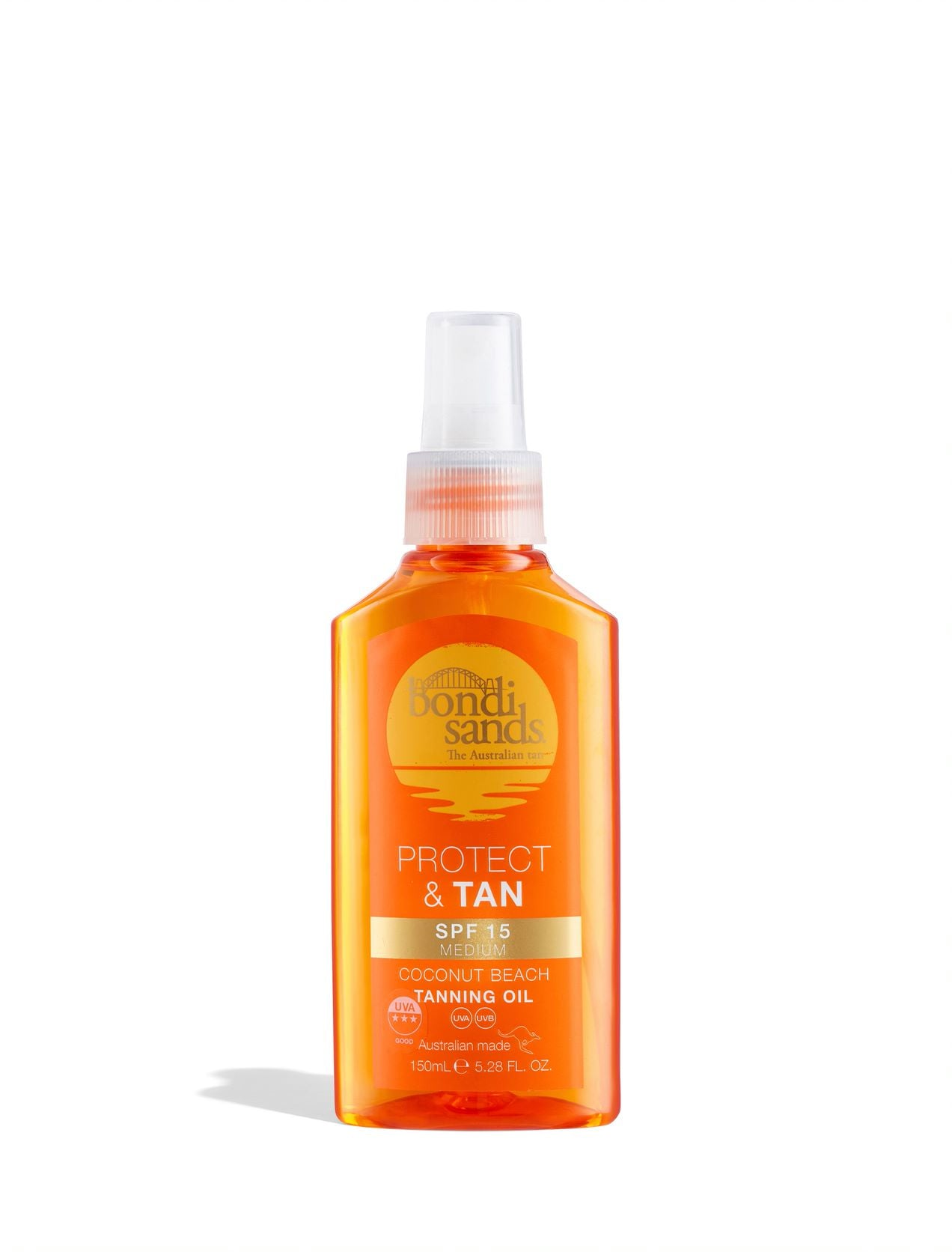 SPF 15 Sunscreen Tanning Oil