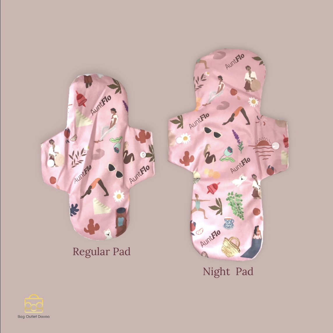 Auntflo Washable Pads