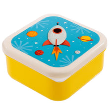 Lade das Bild in den Galerie-Viewer, 3-er Set Lunchboxen - Weltraum