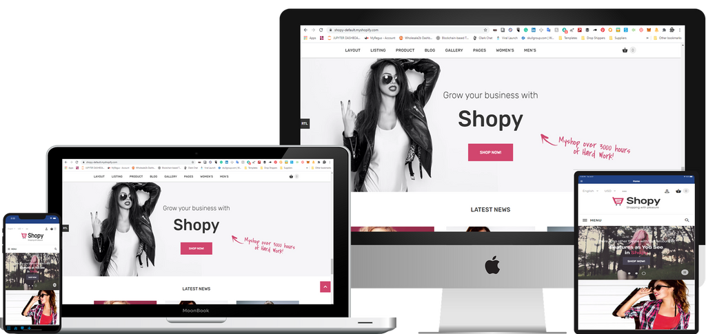 UPGRADE YOUR SHOPIFY STORE, TO A HIGH-END MODERN STORE WITH SUPER FAST SPEED IN 24HRS.