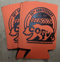50th Anniversary Can Coozies -  Orange