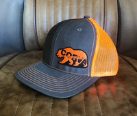 CORVA - The Public Lands Bear Mesh Hat - Orange