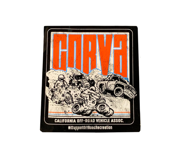CORVA Vintage Sticker