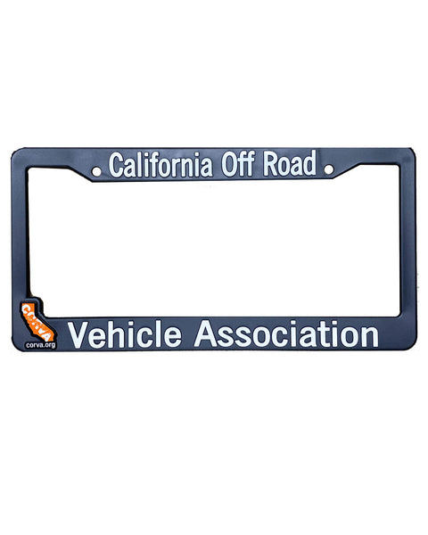 CORVA License Plate Frame - 4 Options