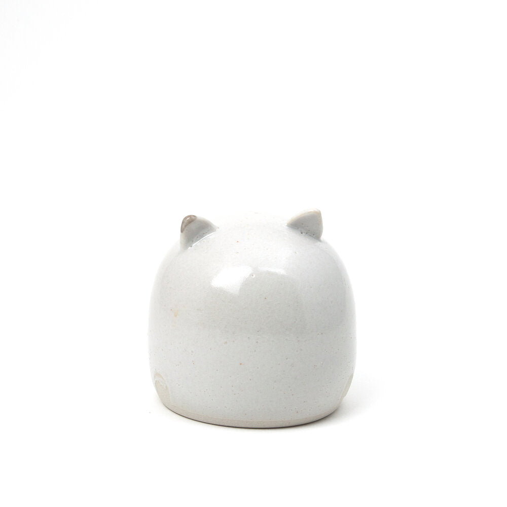 Porcelain Shino Cat Rattle